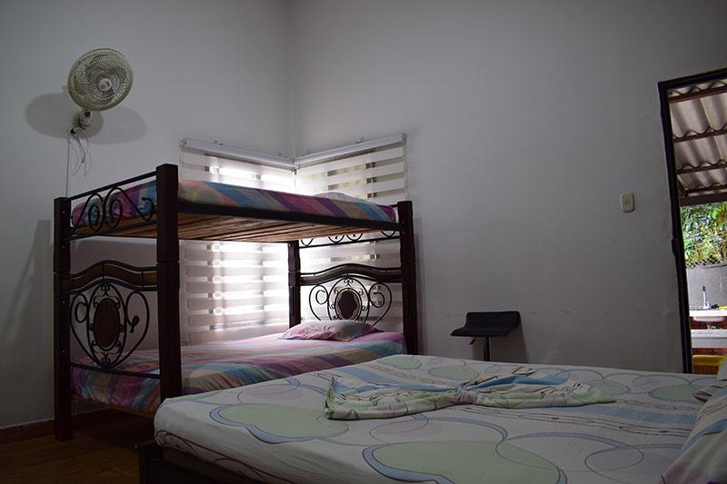 Four person room #7 (La Curva)