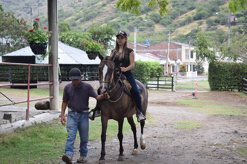 Villa Pilar Equine Club-Creole riding.